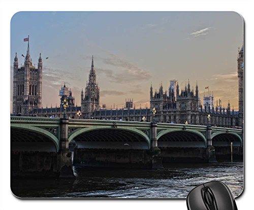 Mouse Pad - London Parliament England Ben Ben - Epacket Tracking Uk
