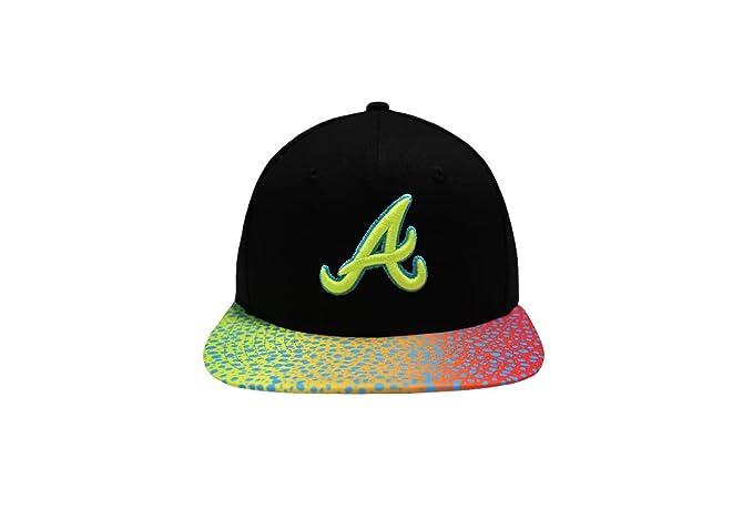 New Era 9Fifty Cap - Atlanta Braves Sneakvize Gorra de béisbol - para hombre negro negro Small: Amazon.es: Ropa y accesorios