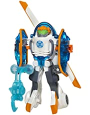 TRANSFORMERS Rescue Bots Energize - Blades the Coptor Bot Converting Robot Action Figure - Playskool Heroes - Kids Toys - Ages 3+