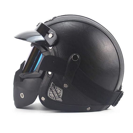 Casco Modular de Motos,Casco de Moto con Bluetooth Integrado ECE Homologado para Patinete Electrico Motocicleta Bicicleta Scooter con Gafas de Doble Protecci/ón Mujer y Hombre