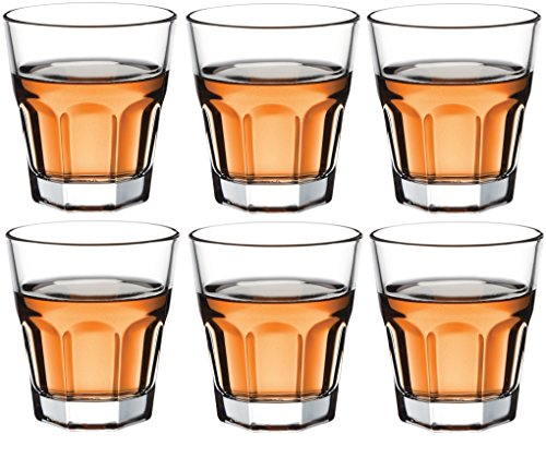 Circleware 42790 Scorchers Shot, Set of 6, 1.5 Ounce, Clear