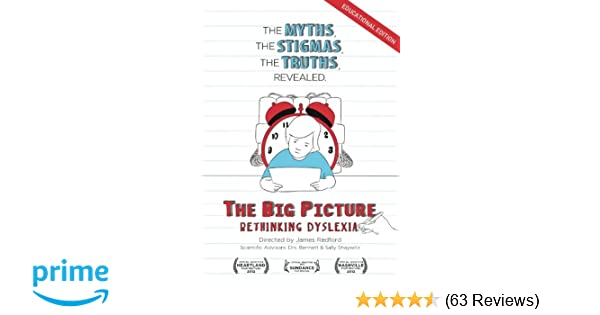 Rethinking How Students With Dyslexia >> Amazon Com The Big Picture Rethinking Dyslexia Educational