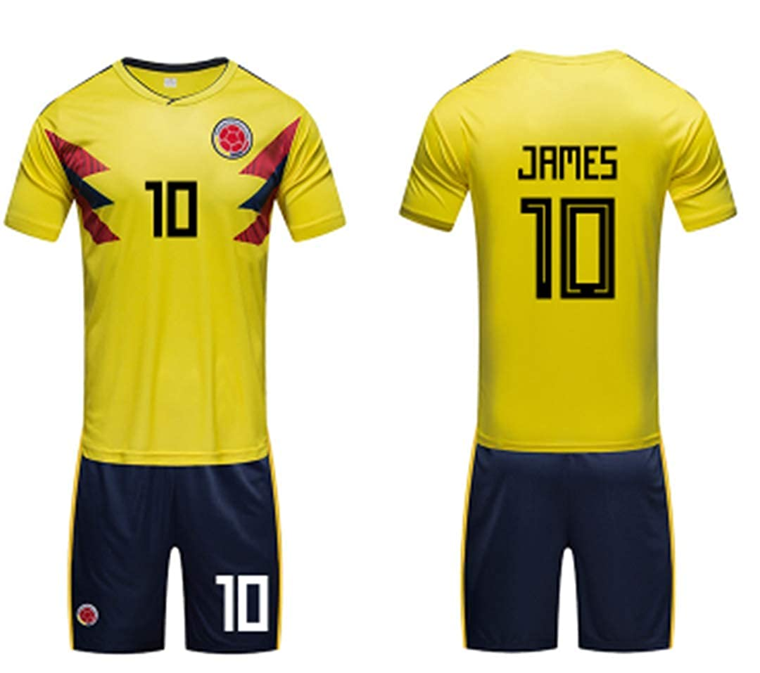 promo code 4a0a3 35217 LISIMKE Soccer Team 2018/19 Colombia James Rodríguez 10 Home ...