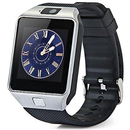 Amazon.com: DZ09 Smart Watch w/ micro SIM slot, Camera ...