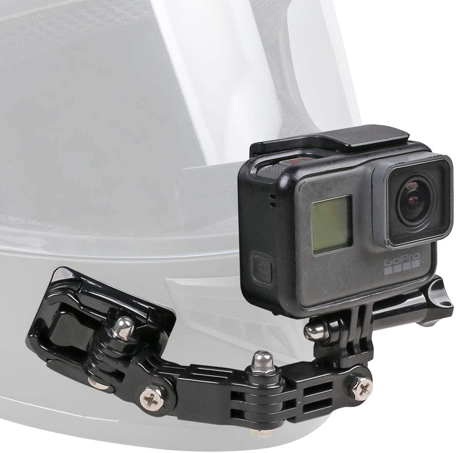 Motorcycle Helmet Chin Mount Kit Compatible With Gopro Hero 9 8 7 2018 6 5 Black 4 Session 3 Action Camera And More