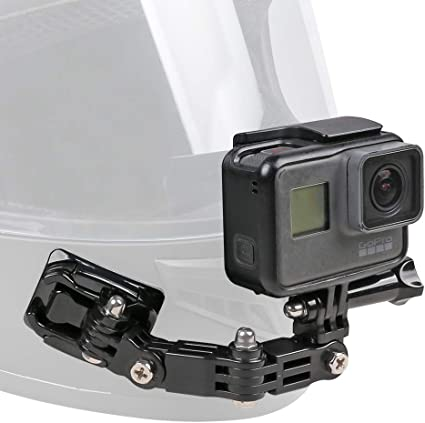 Motorcycle Helmet Chin Mount Kit For Gopro Hero 2018 6 5 Black 4 Session 3 Action Camera And More