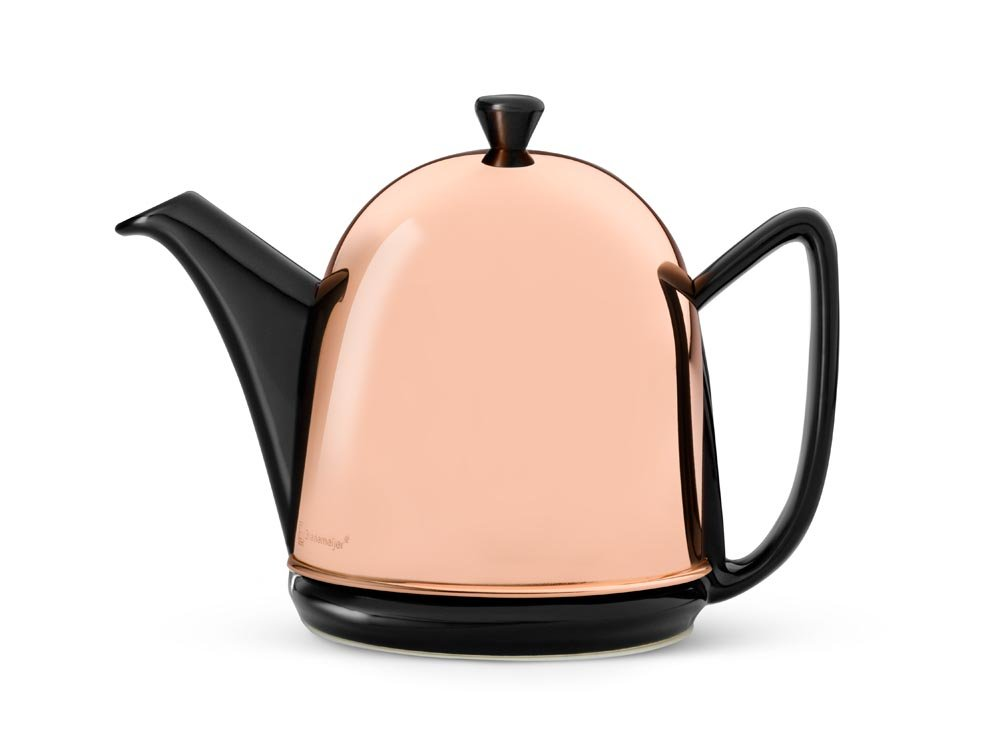 Bredemeijer Cosy 1510ZK Cosy Manto Teapot 1.0 Litres with Black Fittings by bredemeijer
