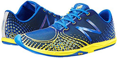 888098162721 - New Balance Men's MR00 Minimus Road Running Shoe,Blue/Yellow,11.5 D US carousel main 5