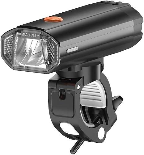 Luz Bicicleta LED Impermeable, Luz de Bici Recargable USB,Al Aire ...