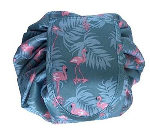 2 Pack Portable Clear Cosmetic Bag, Cactus Waterproof PVC