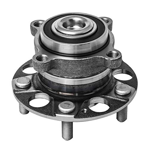 Rear Wheel Hub and Bearing Assembly Left or Right Compatible Acura TSX Honda Accord AUQDD 512353 [ 5 Lug ]