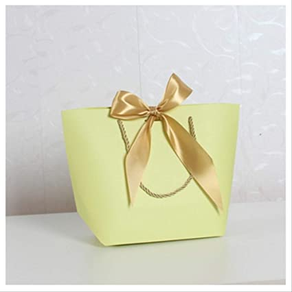 FHFF - Bolsa de papel kraft de tamaño grande, caja de regalo ...