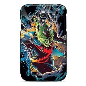 Shock Absorbent Hard Phone Covers For Samsung Galaxy S4 With Allow Personal Design Fashion Martian Manhunter I4 Skin LisaSwinburnson WANGJING JINDA