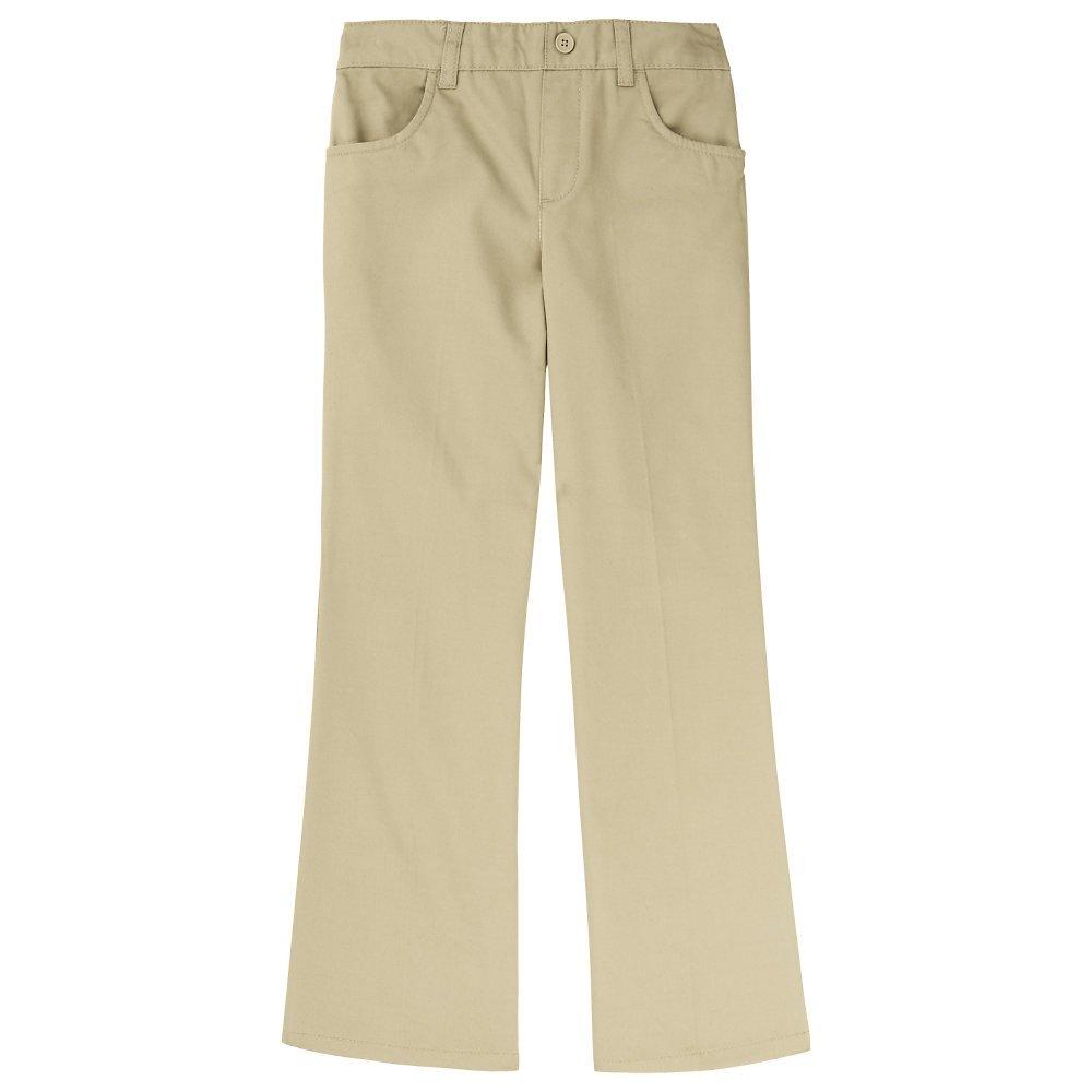 French Toast Girls Plus Size' Twill Bootcut Pull-On Pant, Khaki 20.5
