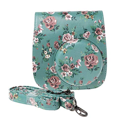 For Fujifilm Instax Mini 8 9 Camera Bags Faux Leather Shoulder Strap Case Pouch