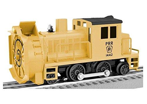 Lionel  Pennsylvania Command Control Rotary Snowplow, Yellow, black,; O -