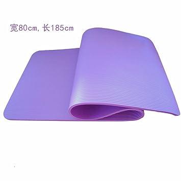KHSKX-Estera De La Yoga 10Mm Fitness Mat Engrosamiento ...