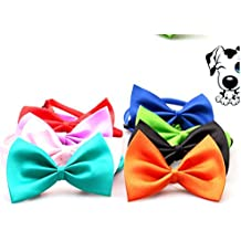 Kredy 8pcs/pack New Pet Dog Bowties Dog Collar neckties Dog Ties Adjustable Pet Grooming Products Dog Accessories Cute Gift