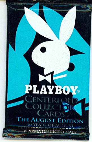 Playboy Sports Time Centerfold Collector Cards The August Edition Pack