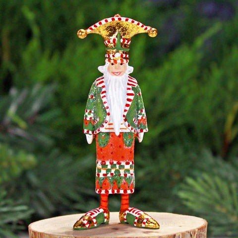 Patience Brewster Mini Nutcracker Christmas Figural Ornament 08-30840