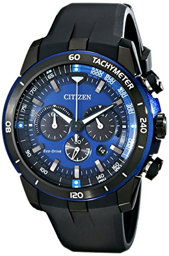 Citizen Eco-Drive Men's CA4155-12L Ecosphere Analog Display Black Watch ()