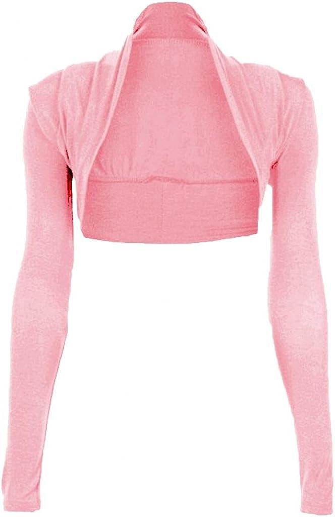 Funky Boutique Womens Long Sleeved Bolero Shrug Size 8-22