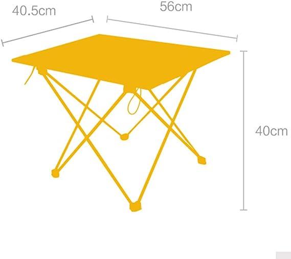 en Plein AirAlliage MéTal D'Aluminium Table en Pliante Ygv7y6bf