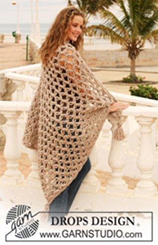Amazon com: Crochet Throw Blanket, Afghan, with Tassel on Corners