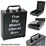 IMPORTANT: THIS CASE IS EMPTY, NOT CARD GAMES ARE INCLUDED. THIS PRODUCT IS NOT DESIGNED TO HOLD THE NEW RED, GREEN OR BLUE BOX Keep all your cards safe in one place with this stylish metal case Great you found our product, we are sure this is just w...