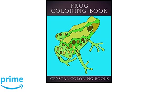 Amazoncom Frog Coloring Book 30 Simple Frog Line Drawing