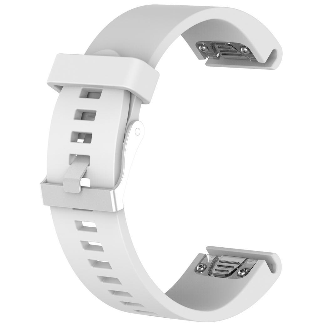 Noir Bande de Montre de Remplacement en Silicone Souple pour Garmin Fenix 5S Plus Fitness Montre Intelligente,Ajustement 5.5-8.0 Cooljun Garmin Fenix 5S Plus Bracelet de Montre
