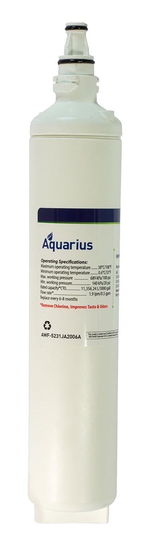 Aquarius awf-5231ja2006 a LG交換水フィルタ( 1パック) 1 Pack ホワイト AWF-5231JA2006A 1 B015X0KREU   1 Pack