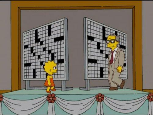 Homer & Lisa Exchange Cross - 20 Simpsons Seasons