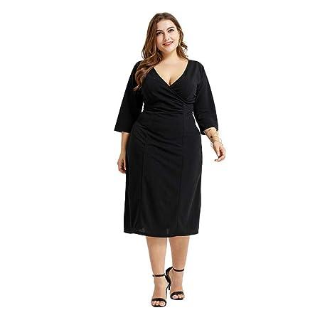 SkirtCP Vestidos De Casual para Mujer Mujeres De Gran Tamaño ...