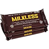 No Whey Vegan Chocolate Bar (3 Pack) - Milkless Dairy Free Chocolate Candy - Milk, Nut, Soy and Gluten Free Chocolate