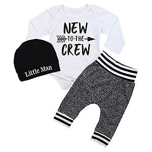 Baby Boy Clothes Newborn Infant Ontfit Long Sleeve