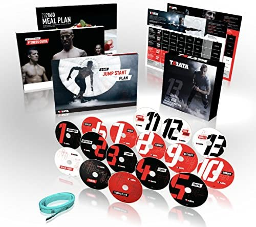 Official TABATA DVD Workout System product image