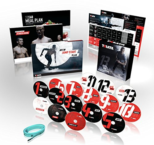 Official TABATA DVD Workout System - 4-minute Hiit Fitness Plus Conditioning, Strength, Flexiblity and Core - Complete Home Fitness (Best Tabata Exercises For Fat Loss)