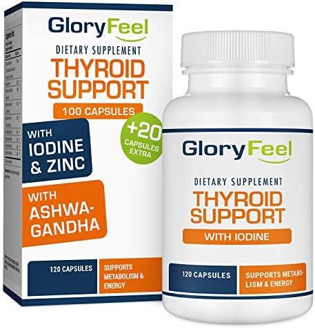 Thyroid Support Supplement Metabolism Ashwagandha product image