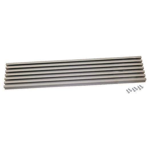 EMUCA Rejilla de ventilación de Aluminio anodizado Horno ...