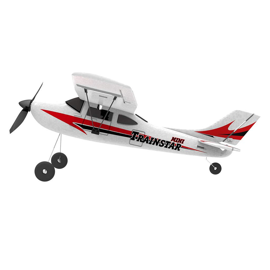 COLOR-LILIJ RC Airplane with 2.4GHz Over 320 ft Control, 6-Axis Gyro, 3-Level Flight Control assists - Help Beginners Learn to Fly Step by Step, Easy to Fly 761-1 RTF Plane for Beginners,US Stock by COLOR-LILIJ (Image #3)