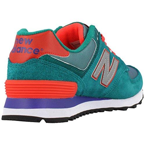 Calzado deportivo para mujer, color Verde , marca NEW BALANCE, modelo Calzado Deportivo Para Mujer NEW BALANCE WL574 Verde Verde