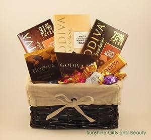 Godiva Assorted Chocolate Gift Basket