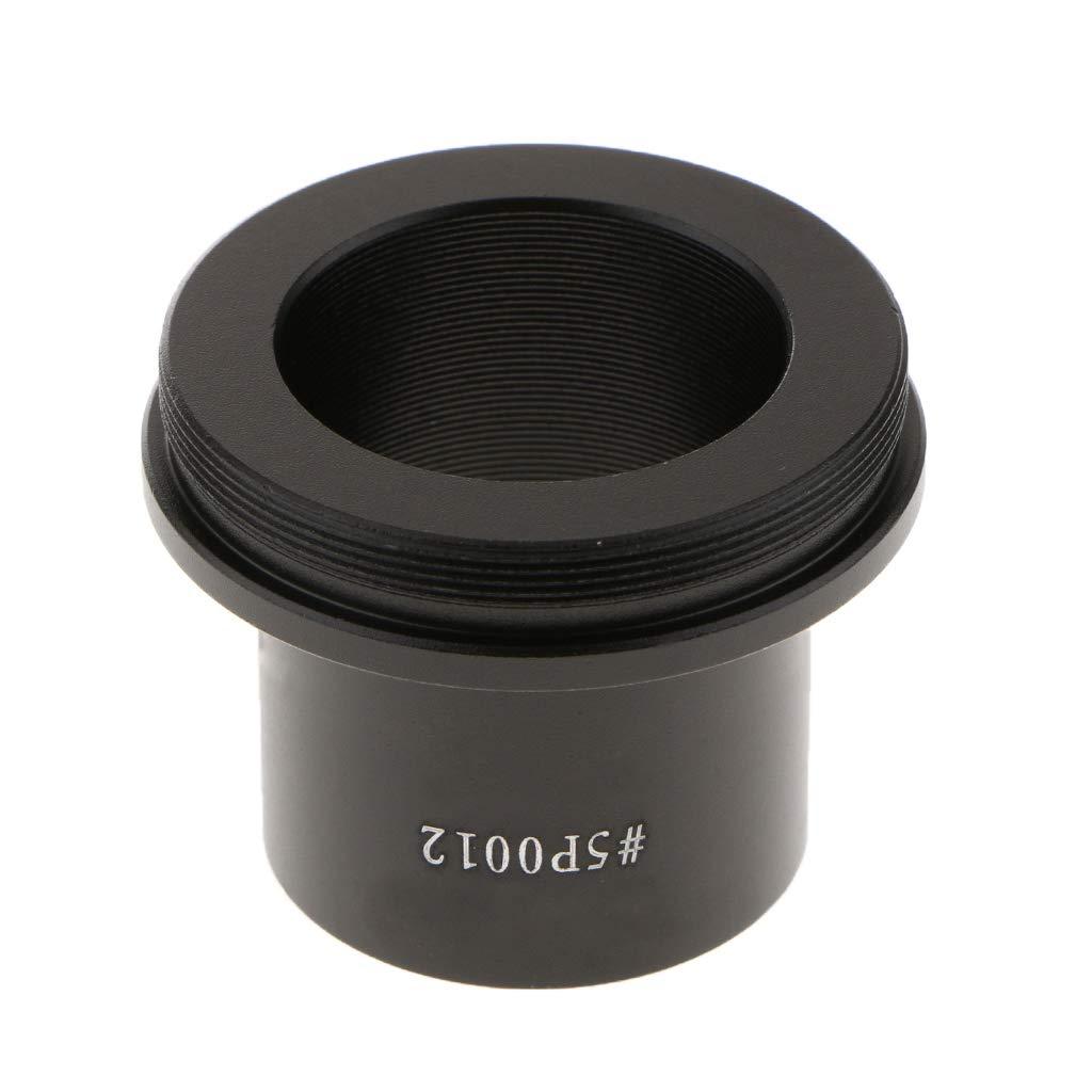 IPOTCH Tubo Adaptador para C/ámara Telesc/ópica de 1,25Pulgadas con Anillo T2 para C/ámara R/éflex Digital Canon