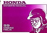 31KFR610 1999 Honda CN250 Helix Motorcycle Owners Manual