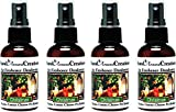 Set of 4 - Concentrated Spray / Room Deodorizer / Air Freshener - 2 fl oz /ea. - Scent - Christmas: Orange spice,fir and pine from the Christmas tree. Orange, cinnamon, and pine essential oils.