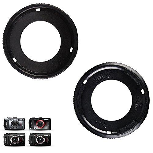 Lens Cap Conversion Lens Adapter Kit for Olympus Tough TG-6 TG-5 TG-4 TG-3 TG-2 TG-1 with 40.5mm UV Filter Replaces Olympus CLA-T01 Lens Adapter Converter