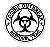 zombie response tire cover - 1 Pcs Ideal Popular Zombie Outbreak Response Team Car Sticker Sign Windows Decor Badge Label Self-Adhesive Size 2