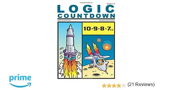 Amazon.com: Logic Countdown, Grades 3-4 (9781593630874): Bonnie ...