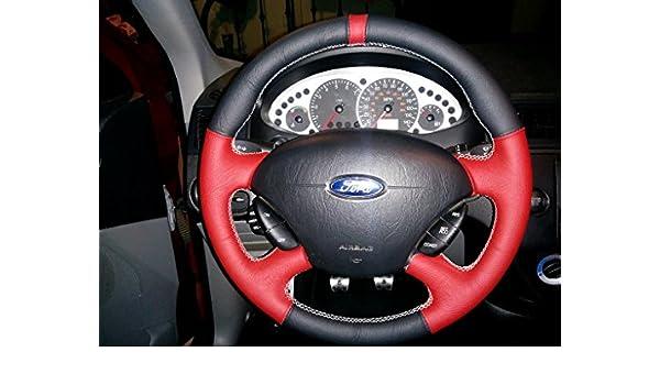 RedlineGoods Ford Focus Mk1 1998-07 Lenkradbedeckung: Amazon.es: Coche y moto